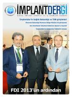 Yayını indir PDF - Dental İmplant Sanayici ve İş Adamları Derneği
