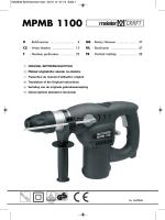 MPMB 1100 - Meister Werkzeuge