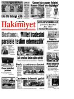 (5 eyl\374l.qxd) - Çorum Hakimiyet Gazetesi