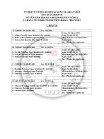 türkiye güreş federasyonu başkanlığı 2014
