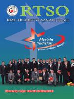 Recep Kürkçü - Rize Ticaret ve Sanayi Odası