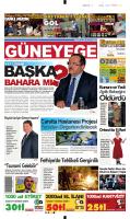 12 Mart 2014 - Güney Ege Gazetesi