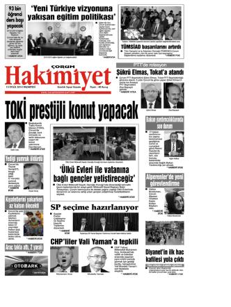(15 eyl\374l.qxd) - Çorum Hakimiyet Gazetesi