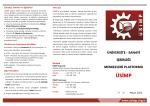 ÜSİMP Broşürü - Üniversite Sanayi İşbirliği Merkezleri Platformu