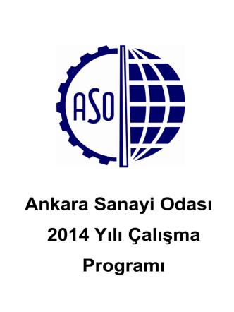 Ankara Sanayi Odası 2014 Yılı Çalışma Programı