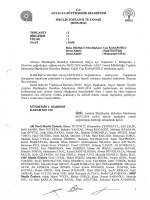 08.05.2014 Tarihli Meclis Toplantı Tutanağı