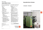 Sargı Bezi Sarım Otomatı VWA203 / VWA303