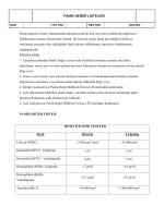 PANİK DEĞER LİSTELERİ Panik değerler listesi, laboratuarda