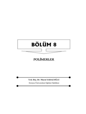 BÖLÜM 8 - ResearchGate