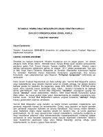 istanbul yeminli mali müşavirler odası yönetim kurulu
