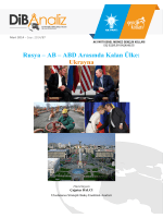 Rusya – AB – ABD Arasında Kalan Ülke: Ukrayna
