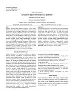 Çocukluk Döneminde Cinsel İstismar - Kocatepe Tıp Dergisi