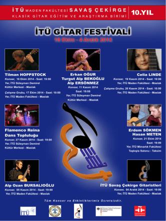 buradan - Klasik Gitar - İstanbul Teknik Üniversitesi