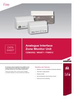 DS0005a_Analogue Interfaces_Zone Monitor Units_CZMU352