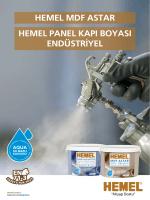 Detaylı Broşür-HEMEL MDF ASTAR Hemel-Panel-Kapi
