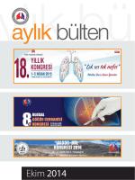 Ekim 2014 - Türk Toraks Derneği