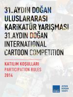 31. Aydın Doğan Uluslararası Karikatür Yarışması Katılım Koşulları