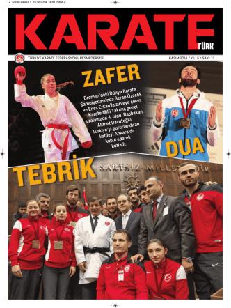 Aralık 2014 - Türkiye Karate Federasyonu