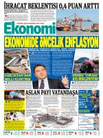 14 EKİM 2014 - Ekonomi Gazetesi