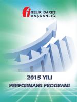 2015 YILI 2015 YILI - Gelir İdaresi Başkanlığı