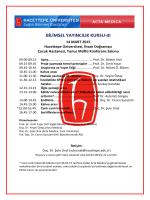 Hacettepe Üniversitesi Sağlık Bilimleri Enstitüsü ve Tıp Fakültesi