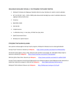 Etkileşimli Tahtaların Tanıtımı ve Kullanımı