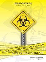 sağlık çalışanlarında iş kazaları ve meslek hastalıklarına yaklaşım