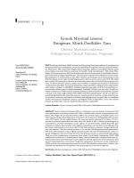 Kronik Miyeloid Lösemi: Patogenez, Klinik Özellikler