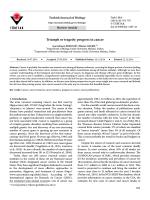 Triumph or tragedy: progress in cancer - Scientific Journals
