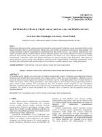 heterojen filolu yeşil araç rotalama optimizasyonu