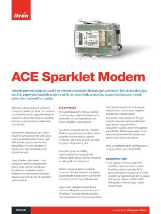 ACE Sparklet Modem