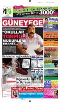 03 Eylül 2014 - Güney Ege Gazetesi