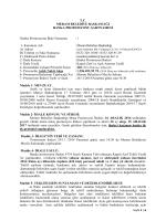 1 1- Kurumun Adı - Meram Belediyesi
