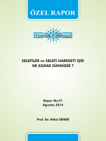 Selefiler ve Selefi Hareketi IŞİD Ne Kadar Sünnidir?