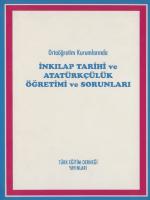 Ortaöğretim Kurumlarında İnkılap Tarihi ve Atatürkçülük