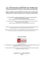 Sayı 7 - Eğitim ve Toplum Dergisi