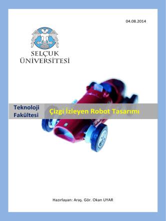 Çizgi İzleyen Robot Tasarımı