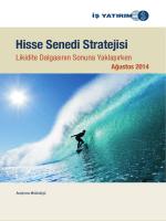 Hisse Senedi Stratejisi