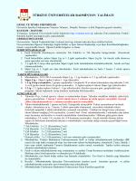 türkiye üniversiteler badminton talimatı
