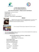 il genel meclisi ortaokulu 2013- 2014 eğitim öğretim yılı eko