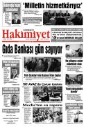 9 Mart Qxd Corum Hakimiyet Gazetesi
