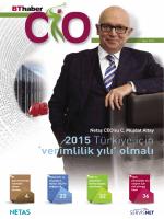 2015 Türkiye için `verimlilik yılı` olmalı