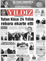 Gunluk Gazetenin Tamamini Okumak Icin Tiklayin