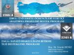 PowerPoint Sunusu - Proje Destek Ofisi