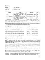Resume - CA - February 2014 TEDU