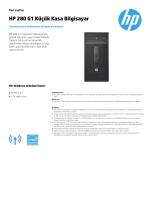 HP 280 G1 Küçük Kasa Bilgisayar - Hewlett