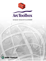 ArcToolboxAnalysisConversionDataManagement