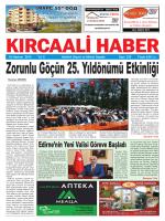 Sayı 235/2014 - Kırcaali Haber