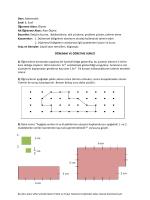 Ders: Matematik Sınıf: 6. Sınıf Öğrenme Alanı: Ölçme Alt Öğrenme