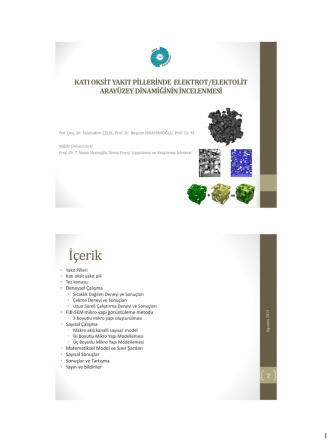 10.03 Kati Oksit Yakit Pillerinde Elektrot/Elektrolit Ara Yüzeyindeki